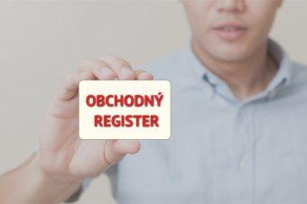 Obchodný register